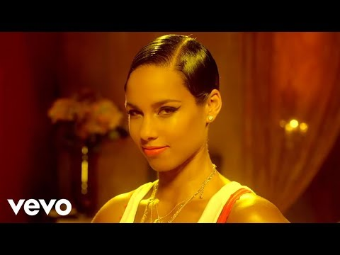 Mix - Alicia Keys - Girl On Fire (Official Music Video)