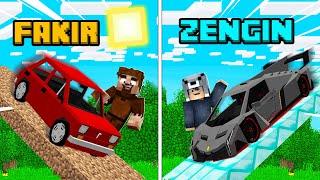 FAKİR ARABA RAMPA VS ZENGİN ARABA RAMPA! 😱 - Minecraft