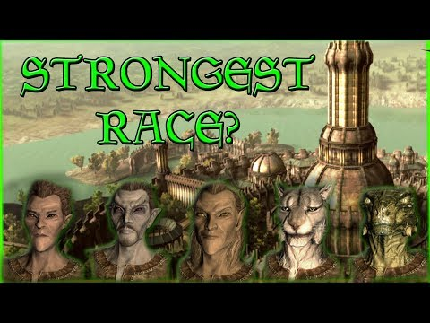 Which Race Is The Most Powerful In Tamriel? - Elder Scrolls Lore