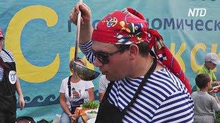 В Татарстане повара посостязались в умении варить уху