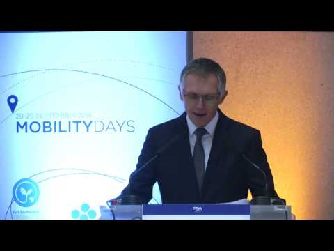 Carlos Tavares' speech at the Mobility Days event - PSA Group