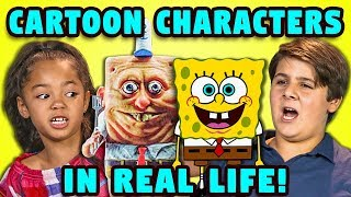 vermillionvocalists.com - 10 CARTOON CHARACTERS IN REAL LIFE w/ KIDS (React)