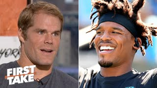 Greg Olsen: Cam Newton wants to return, but the Panthers support Kyle Allen for now | First Take