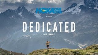 DEDICATED: SAGE CANADAY AT UTMB 2015 | a film by Matt Trappe presented by HOKA ONE ONE