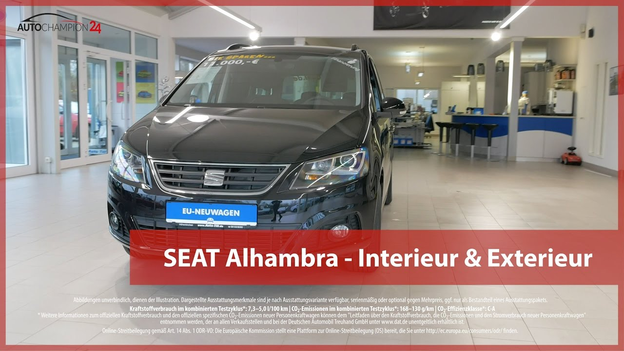 seat alhambra reimport eu neuwagen interieur exterieur. Black Bedroom Furniture Sets. Home Design Ideas