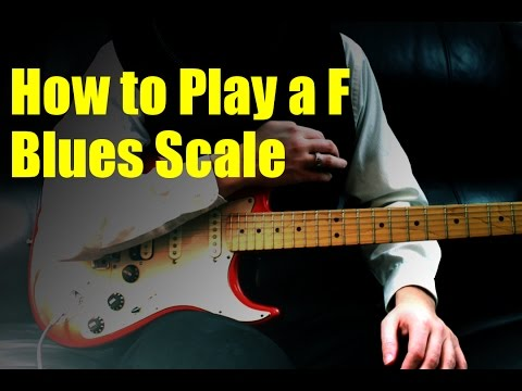 how-to-play-a-f-blues-scale