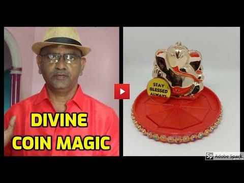 MAGIC TRICKS VIDEOS IN TAMIL #650 I DIVINE COIN MAGIC I தமிழ் மேஜிக் I@Magic Vijay
