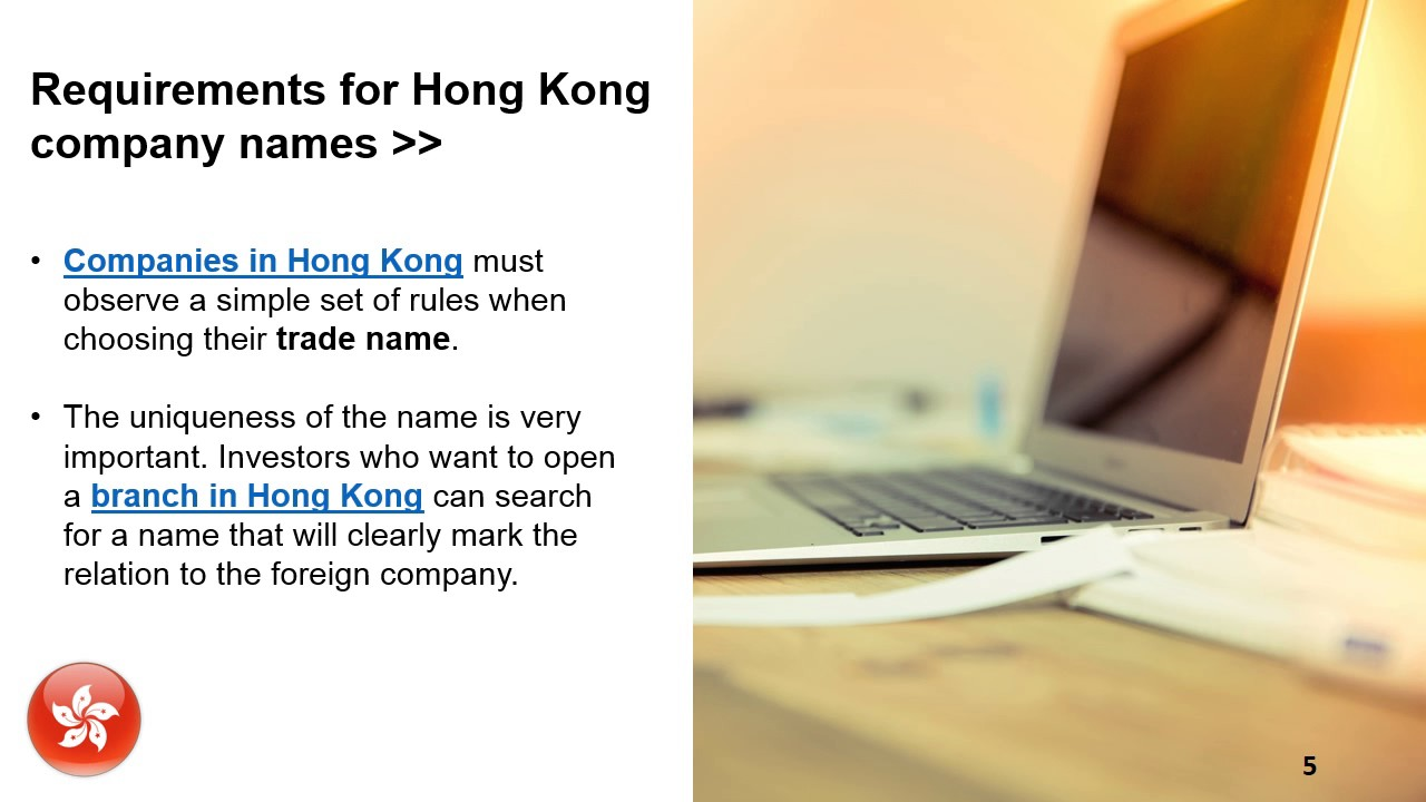How to Reserve a Company Name in Hong Kong