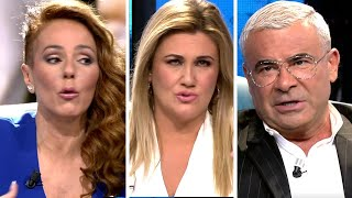 El gran ridículo final de Rocío Carrasco por Jorge Javier Vázquez , Carlota Corredera y Fidel Albiac