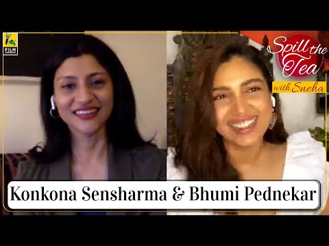 Bhumi Pednekar & Konkona Sensharma | Dolly Kitty Aur Woh Chamakte Sitare | Spill the Tea With Sneha