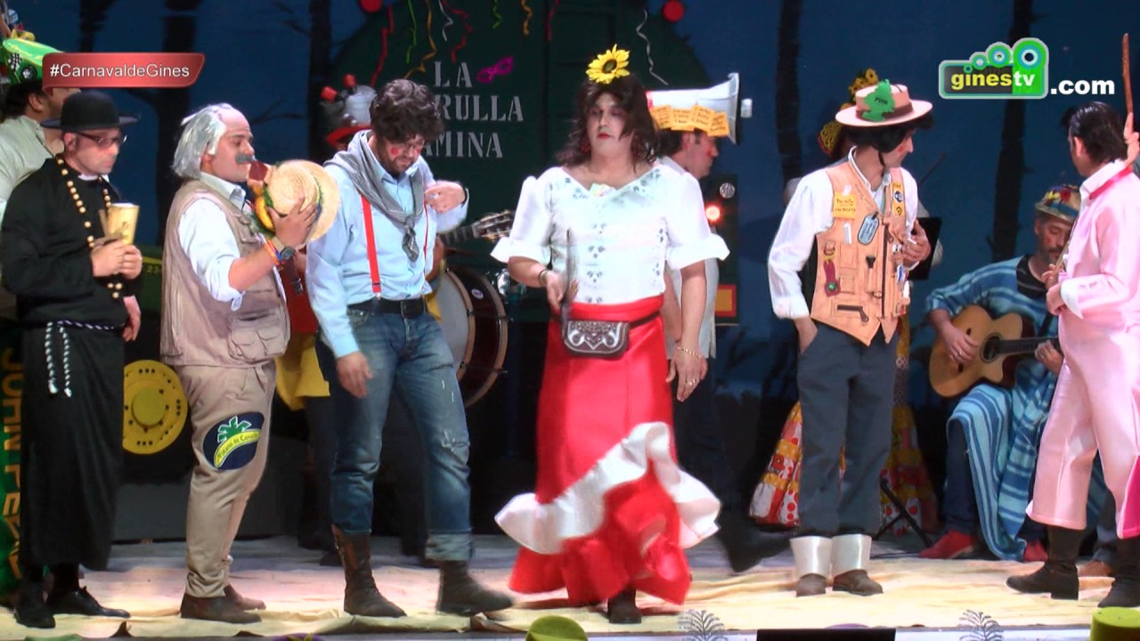 La patrulla camina. Carnaval de Gines 2017 (Tercera semifinal)