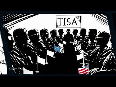 Top Secret: TISA und der Datenschutz - Plusminus 20.05.2015 - Bananenrepublik