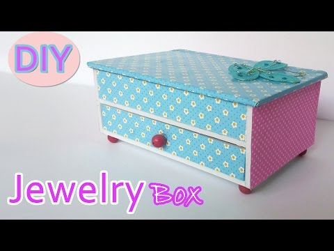 How to make a Jewelry box - Ana | DIY Crafts.