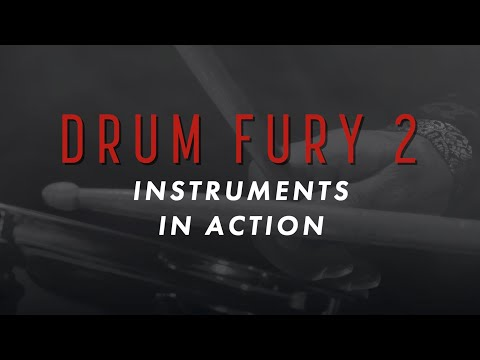 DRUM FURY 2 - INSTRUMENTS IN ACTION