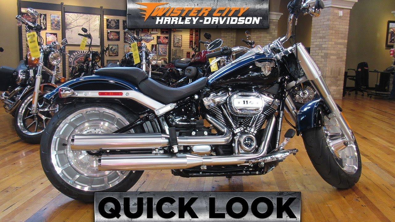 Harley Fat Boy 2018 >> 2018 Harley-Davidson® FLFBS - Softail® Fat Boy® 114 115th Anniversary - YouTube
