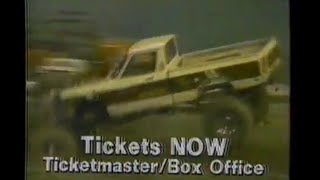 1985 US Hot Rod Truck Pull Spring Nationals show New Orleans TV Commercial