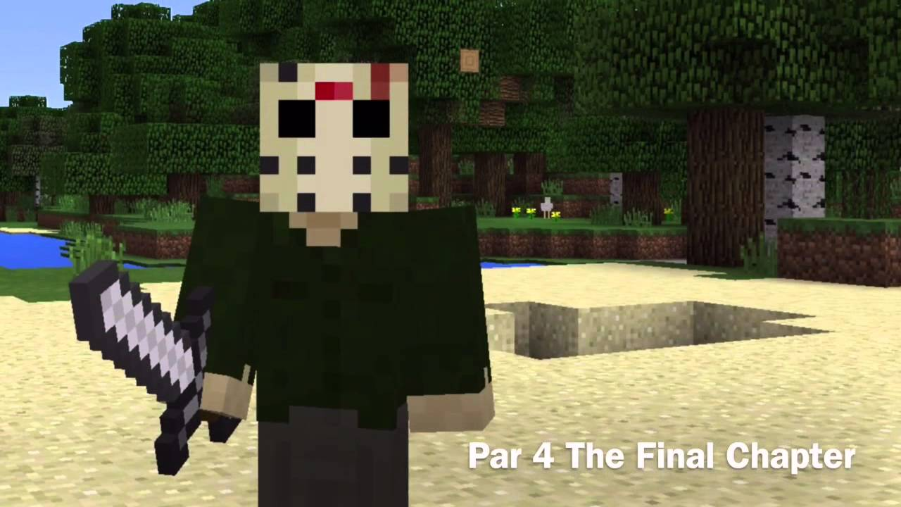 Minecraft Jason Voorhees Skins YouTube - Skins para minecraft pe jason