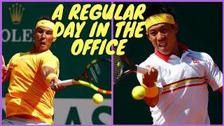 H3 - Rafael Nadal vs Kei Nishikori - Final Monte Carlo 2018 - Summary