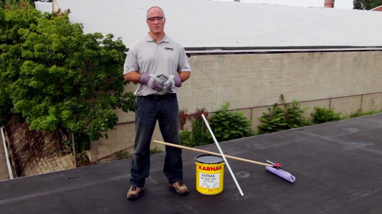 How To Apply 502 Rc W Elastomeric White Roof Coating Over
