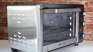 видео Мини-печи. Кухонная техника. Печь, Найфл, Чудесница, DNS, Электропечь, белый, Мини-печь
