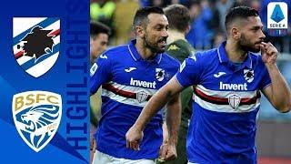 Sampdoria 5-1 Brescia | I blucerchiati ritrovano la vittoria e un doppio Quagliarella | Serie A TIM