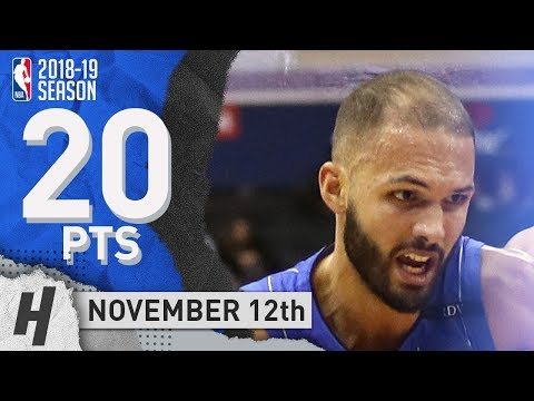 Evan Fournier Full Highlights Magic vs Wizards 2018.11.12 - 20 Pts, 5 Ast, 2 Rebounds! Mp3