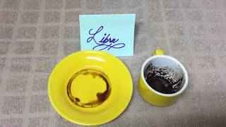 Libra October 14, 2019 Weekly Coffee Cup Reading by Cognitive Universe