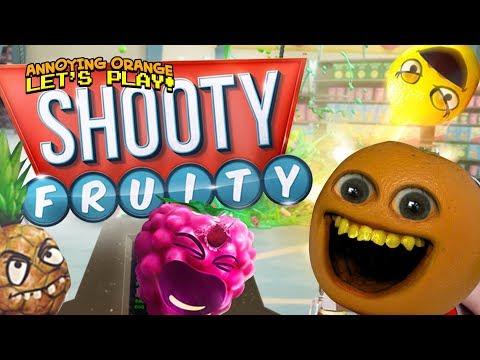 SHOOTY FRUITY (VR FRUITSPLOSION!!!) [Annoying Orange Plays] |