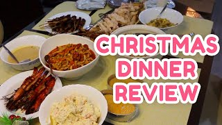THE Christmas Dinner Review w/ POKWANG AND LEE O'BRIAN