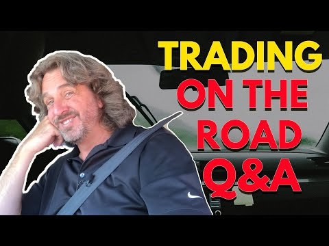 Trading On The Road Q&A | Coffee With Markus Episode 56