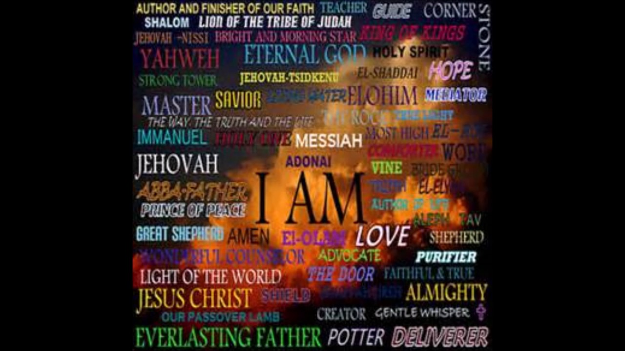 Names Of God: He Is...The Hebrew Names Of God