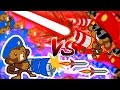 Bloons TD Battles | RAYS OF DOOM VS HYDRA ROCKETS! - STACKING RAYS OF DOOM!?