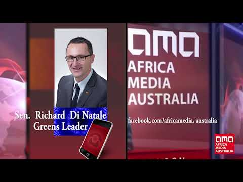 Senator Di Natale says Australia needs stronger African voices and role Models