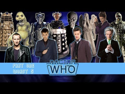 Ranking Doctor Who #3: The New Series - Part One (Worst 5)