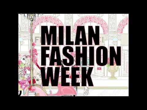 Fashion Illustration - MILAN Fashion Week - Fashion Animation