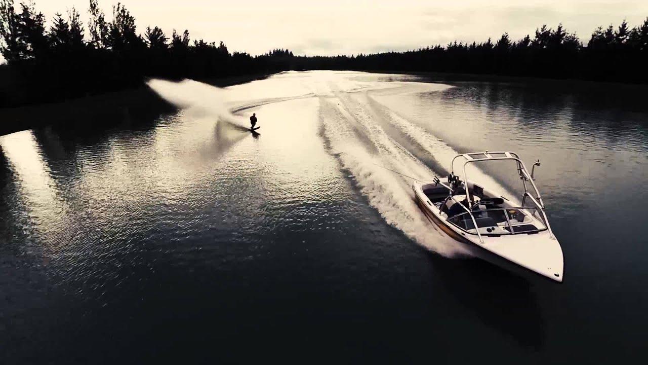 Waterskiing At Ski Lake DJI Phantom 2 GoPro Hero 3