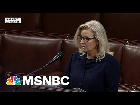 Rep. Liz Cheney Facing Vote To Remove Her From GOP Leadership   MSNBC