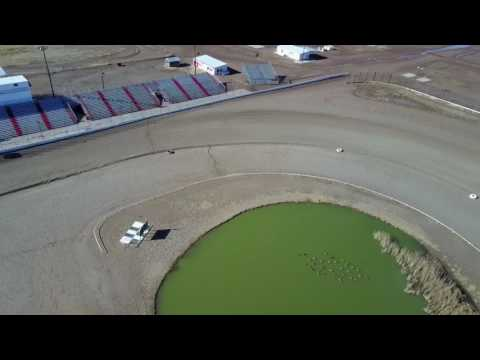 Route 66 Motor Speedway Drone footage