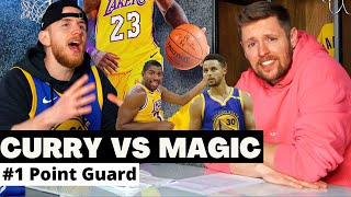 Steph Curry oder Magic Johnson? #1 Point Guard Ever? | SHOTS FIRED