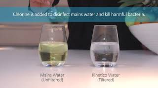 Kinetico drinking filter - What's in your water? - Euro Water Solutions