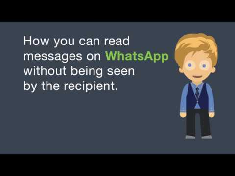 6 Tricks To Help You Become A Whatsapp Ghost