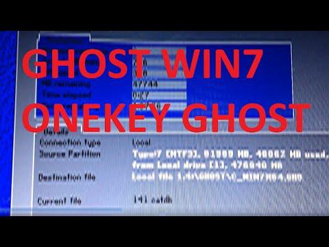 Hướng Dẫn Tạo Và Bung File Ghost Bằng Onekey Ghost