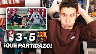 REACCIONANDO al Granada vs Barcelona 3-5 *REMONTADA BRUTAL*