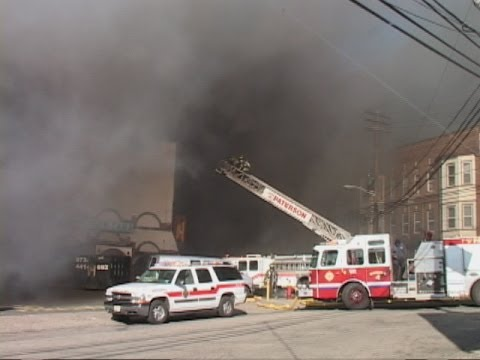 Paterson Fire NJ 3rd Alarm Fire 581 River St and 116 E 15th St 2nd Alarm March 26th 2014