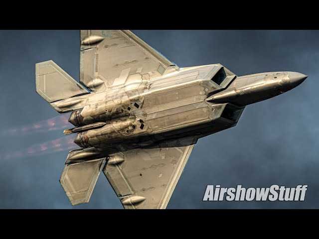 F-22 Raptor Super Maneuverability