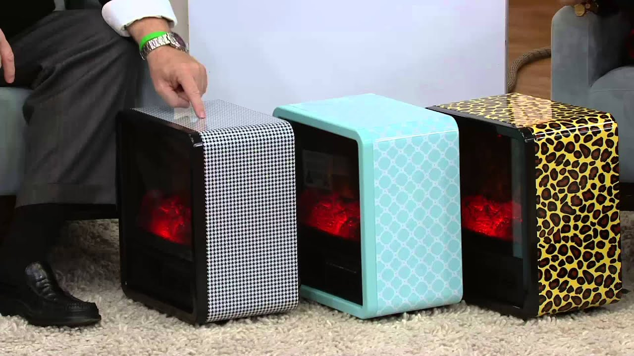 Superb Duraflame 1500W Small Portable Heater With Realistic Flame Effect On QVC