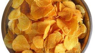 Как сделать чипсы без добавления большого количества масла