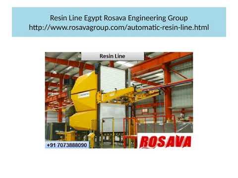Resin Line Egypt Rosava Engineering Group