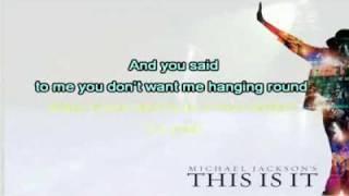 This Is It -  Michael Jackson  (Karaoke-Instrumental)