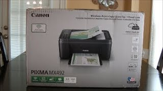 $40 all in one Canon Pixma MX492 review